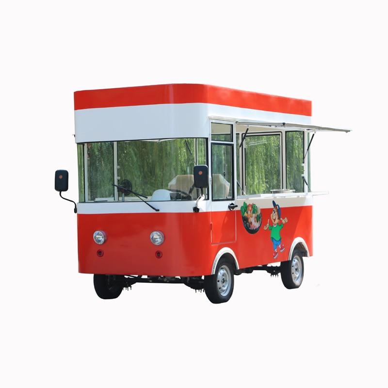 Newly designed street food kiosk electric food truck