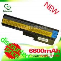 Golooloo 6600MaH battery for Lenovo G550 G430 G430A G430L G430M G450 G450 G450A G450M B460 B550 G530 G530A G530M G555 N500 B460