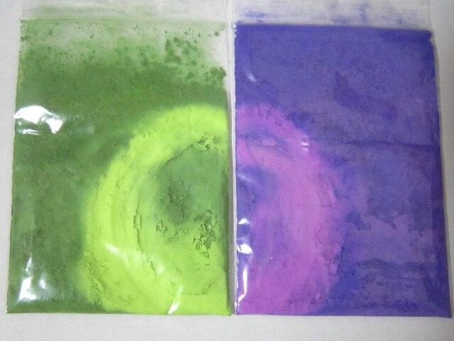 Termocromática Pigmento Púrpura al Rojo, Verde a Amarillo Cambia de ...