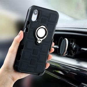 Image 2 - Phone case for dirt resistant Shockproof Kickstand four corner Protection Case DropTest for Huawei P20 P30 Pro Lite Y6 Y7 Y9 Nov
