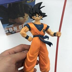 Image 5 - Dragon Ball Z Goku 50 ° anniversario Ruyi in piedi Ver. Action Figure DBZ Commemorative Vegeta bauli Super Saiyan modello 28cm