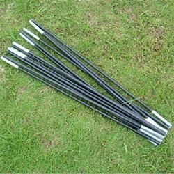1Set = 2PCS=14 Pipes Fiberglass Tent Pole Kit 9 Sections Lightweight Camping Travel Tent Frame Repair Replacement
