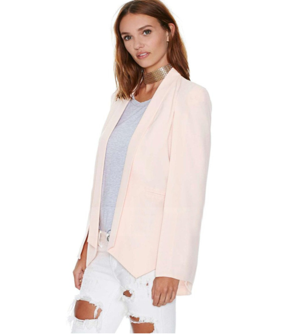 Suit   Jacket   Candy Color Slim Suit Women   Basic     Jacket   9a099