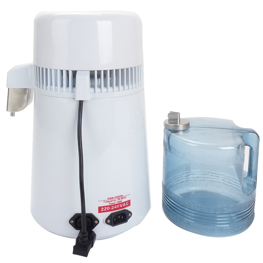 Best Home pure Water Distiller Filter machine distillation Purifier equipment Stainless Steel Water Distiller Water Purifier 4L - 2