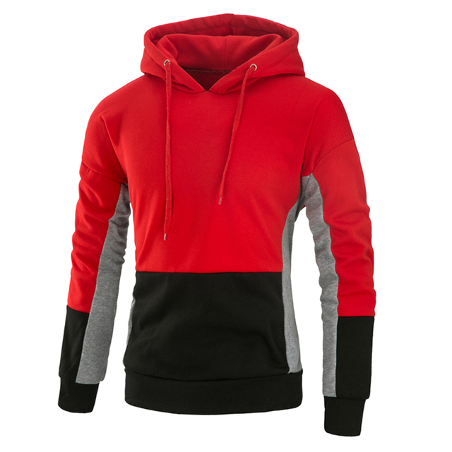 dbd5feb6634 Hoodie Sweatshirt Men Brand Sweatshirts Men women Sweatshirts Patchwork  Hooded Hoodies Pullover Tops Hoody Mens Hoodies 1708141