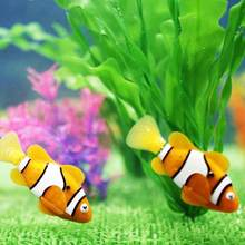 Hot TINGHAO Fashion Electric Swim Fish Activated Battery Powered Robotic Pet Fish Kids Toy(China)
