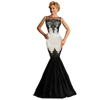 R80196 Hot selling sleeveless vintage sequined party dresses maxi mermaid many color bling evening real sample elegant dress