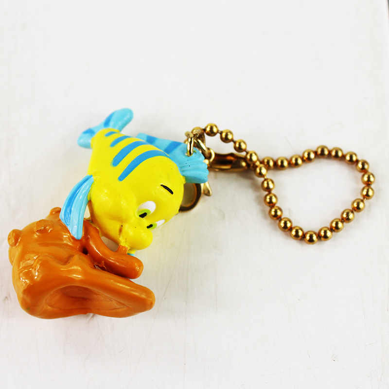 3cm película peces de PVC pez payaso Nemo llavero colgante Anime juguetes de figuras de PVC muñeca para niños regalo