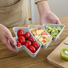 1pcs Tree of Creative Shape Perfect for Nuts and Dried Fruit Plates Bowl Dish Plate Tableware Breakfast Tray Kitchen Home Supply