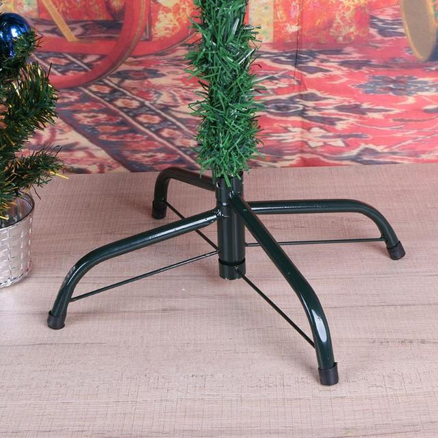 4 feet christmas tree base holder support metal green xmas tree stand foot holder shelf rack