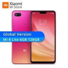 Küresel Sürüm Xiao mi mi 8 Lite 6 GB RAM 128 GB ROM CEP TELEFONU Snapdragon 660 6.26