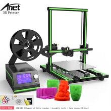 Анет E10 3D принтер DIY Kit Большой Размеры Reprap i3 мини-принтер 300x300x400 мм 0,4 мм сопла алюминиевая рама легкий монтаж