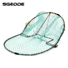 Outdoor Hunting 300mm/12inch Bird Net Effective Live Trap Hunting Sensitive Quail Humane Trapping Polyethylene Net + Steel Frame