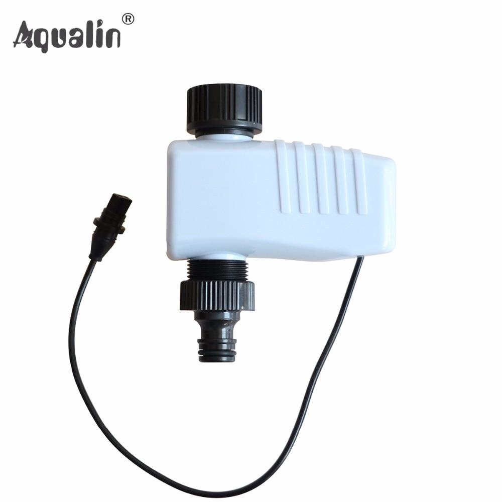 Neue Magnetventil Set Garten Wasser Timer Controller Verwendet, um 4-Zone Smart 10204A Controller Set #28001