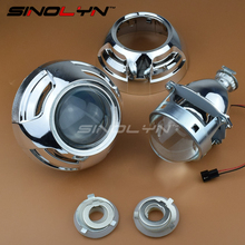 "Car Styling Upgrade Metal 3.0"" H1 Pro Leader HID Bi-xenon Headlight Projector Lens Fits H4 H7 LHD RHD With Apolloo 3.0 Shrouds"