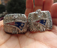 Free Shipping 2001 2004 New England Patriots SUPER BOWL World Championship Champions Ring Together High Quality
