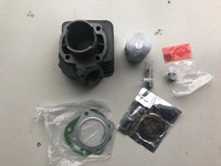 full set Cylinder Kit with Piston Rings For Scooter Honda TACT 50CC 2 stroke Engine QJ DJ1 Keeway Motorcycle suzuki atv part
