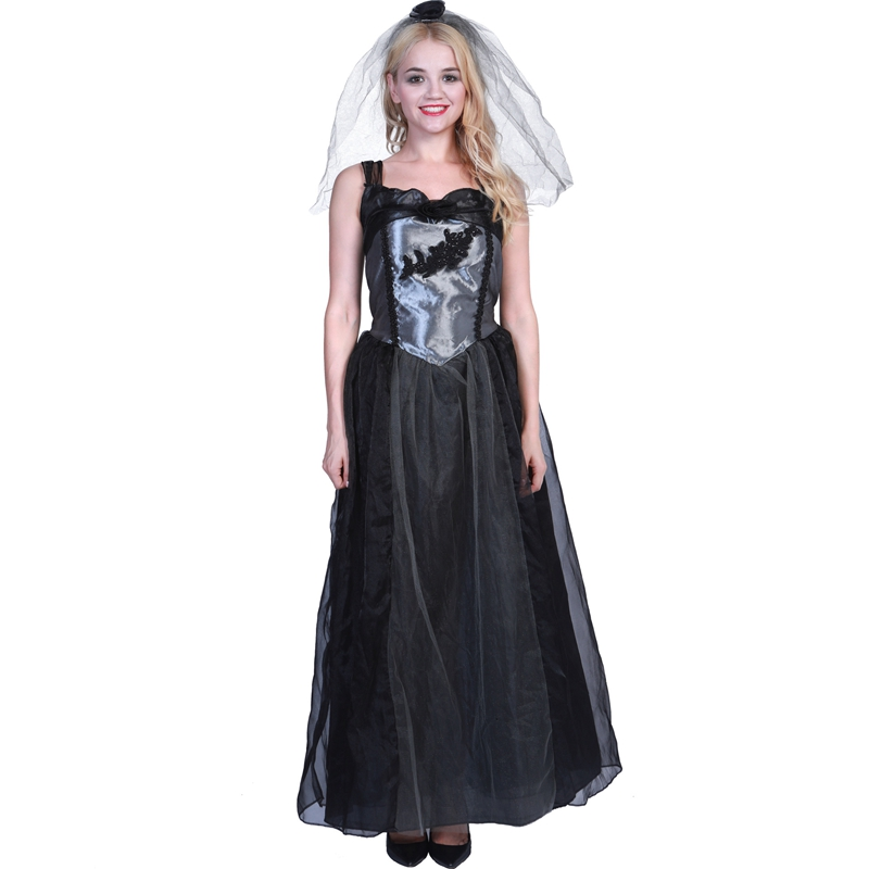 Aliexpress.com : Buy Women Halloween Scary Zombie Bride