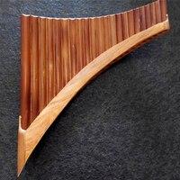 22 труб Профессиональный бамбуковая флейта Пана ручной работы флейте свирель Flauta Сяо духовой музыкальный инструмент Panflutes Сяо C/G ключ