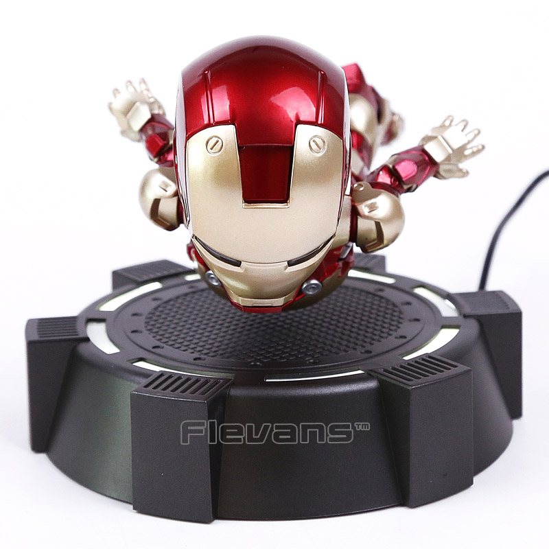 Di trasporto IRON MAN MK MAGNETICO GALLEGGIANTE ver. Con la Luce del LED Iron Man Action Figure Collection Toy 3 Colori