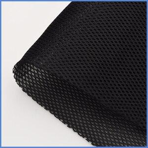 Image 1 - スピーカー雑巾グリルステレオフィルターファブリックメッシュオーディオスピーカーボックス防塵グリル服 # 黒1.4x0.5m