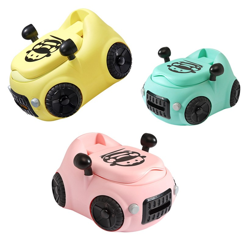 Baby Potty Toilet Car WC For Kids Toilet Trainer Seat Chair Comfortable Portable Pot Children Toilet For Baby
