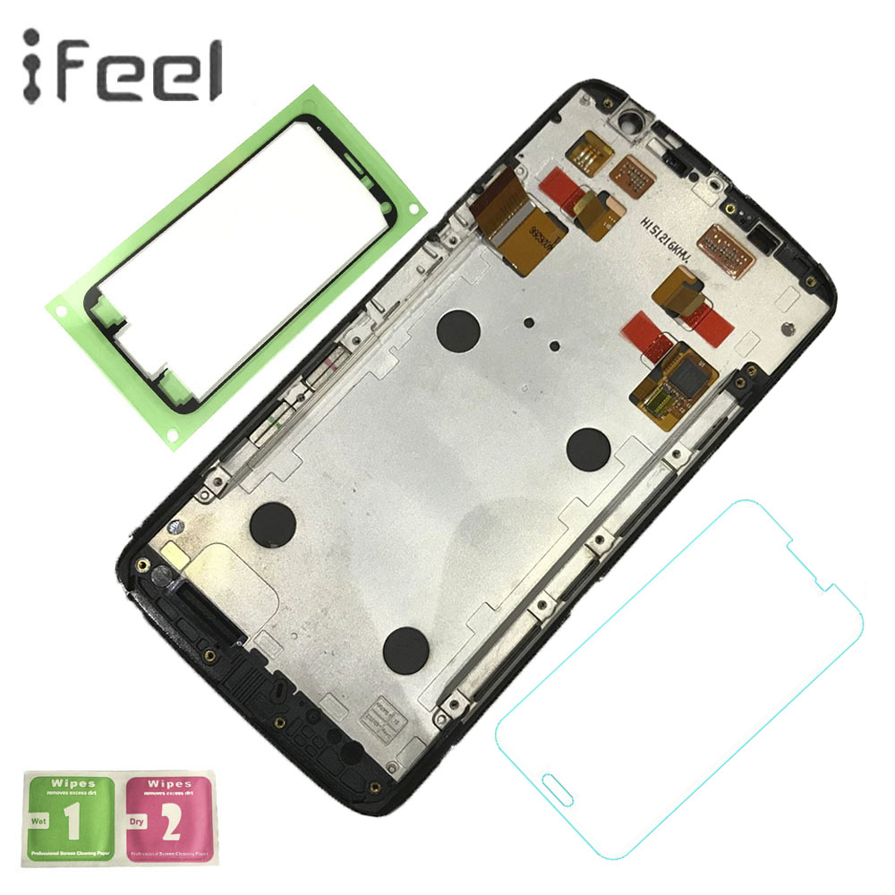 IFEEL For Motorola Moto X Play Xt1562 Xplay LCD Display With Touch Screen Digitizer Assembly Phone Repair Parts with FrameIFEEL For Motorola Moto X Play Xt1562 Xplay LCD Display With Touch Screen Digitizer Assembly Phone Repair Parts with Frame