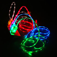 USB Luminous Cable LED Lighting Cable For iPhone Charger Micro USB Electric Wire Mobile Phone Charge Cables For Samsung LG HTC mini micro usb electric fan cell phone cooling for android phone for samsung for htc for lg