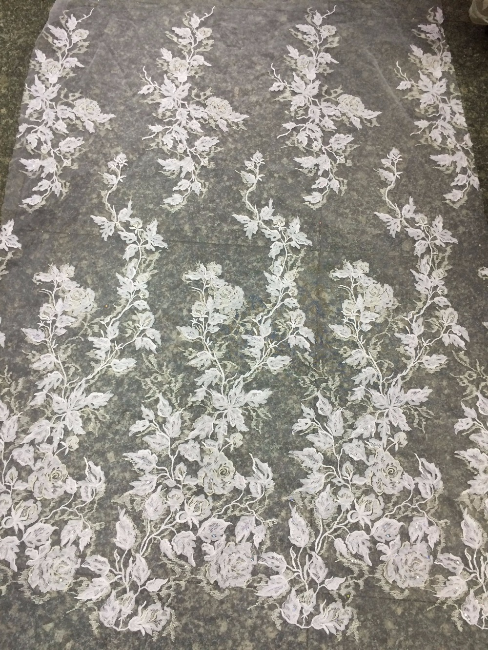 African Nigerian Lace Fabric SYJ 41813 African French Lace Fabric African embroidered Lace High Quality
