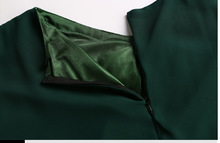 Muslim Chiffon Embroidery long dress for Women Malaysia abayas in Dubai Turkish clothing high quality slim waist