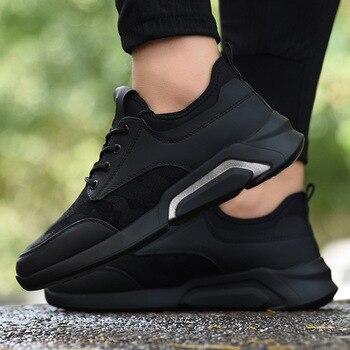 49337287 Новинка 2019 года; Летняя мужская обувь из сетчатого материала; дышащие  легкие повседневные кроссовки; Sapato Masculino; обувь для взрослых;  размеры .