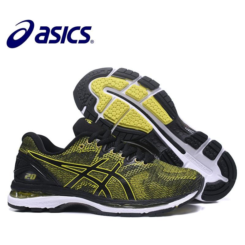 ASICS GEL-Nimbus 20 D'origine Hommes Sneakers de Stabilité Asics Homme de chaussures de course Respirant chaussures de sport chaussures de course