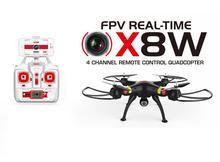 X8W X8C wifi temps réel 2.4G 4ch 6 Axes Venture 2MP Large Angle Caméra RC Quadcopter RTF RC Hélicoptère livraison gratuite
