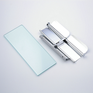 Image 4 - Beelee Toilet Paper Holder Double Solid Brass with Glass Bathroom Toilet Roll Holder For Roll Paper Bathroom Accessories