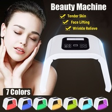 PDT 7 Colors LED Light Photodynamic Facial Skin Care Rejuvenation Photon Therapy Machine For Mothers Day
