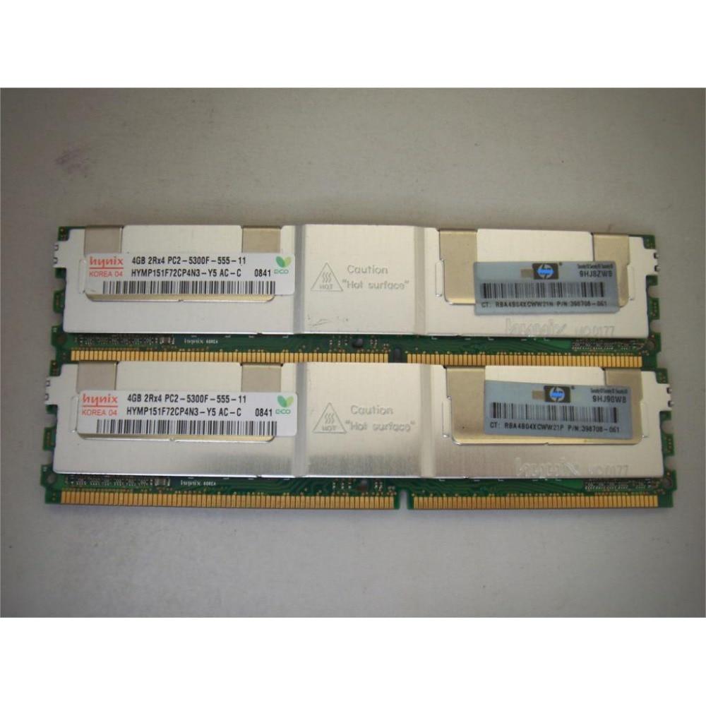 Serverimälu Hynix HP DDR2 4GB 8GB DDR 2 667MHz PC2-5300 2Rx4 4Rx4 - Arvuti komponendid - Foto 3