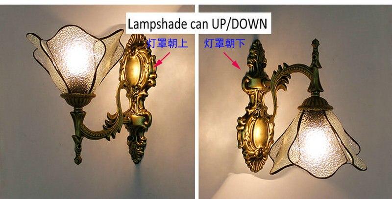 vitrais borboleta luzes de parede para o