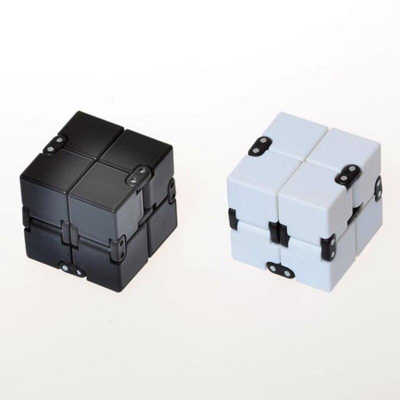 fun Infinity Cube spinner Fidget cube High Quality Anti stress mano magic Kid Finger ToysEDC