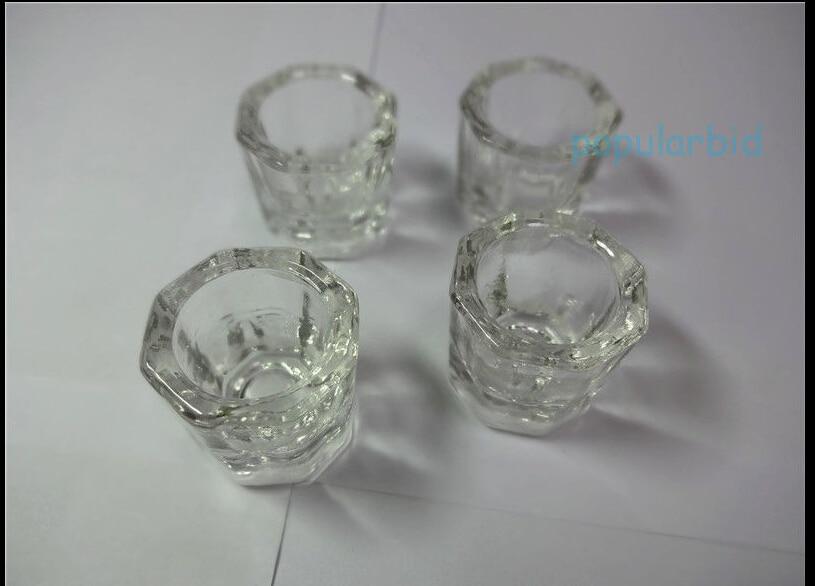 4Pcs font b white b font Glass Dappen Dishes Tiny Mixing Bowls Glassware