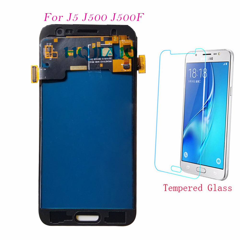 Test <font><b>LCD</b></font> Screen For Samsung Galaxy J5 J500 <font><b>J500F</b></font> J500FN J500Y Touch Screen Digitizer <font><b>LCD</b></font> Display Adjust For Samsung J5 J500 <font><b>LCD</b></font> image