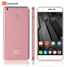 "Original U7 Oukitel Plus 5.5 ""MTK6737 SmartPhone Quad Core 4g del teléfono celular 2G RAM 16G ROM 13.0MP Cámara Android 6.0 teléfono móvil"
