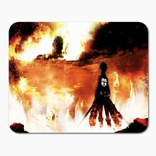 Attack on Titan Customized Rectangle Mousepad Size 220mmX180mmx2mm