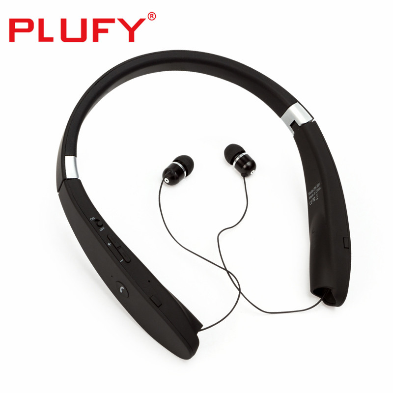 PLUFY Wireless headphones Bluetooth earphone Sport Stereo Headphones Neckband Headphones with Mic for Xiaomi IPhone Android wireless headphones bluetooth headset sport running magnetic stereo neckband earphone with mic csr 4 1 for phone iphone samsung