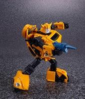 21cm Original Anime Transformers metal Bumblebee model children Toy Dolls Gifts