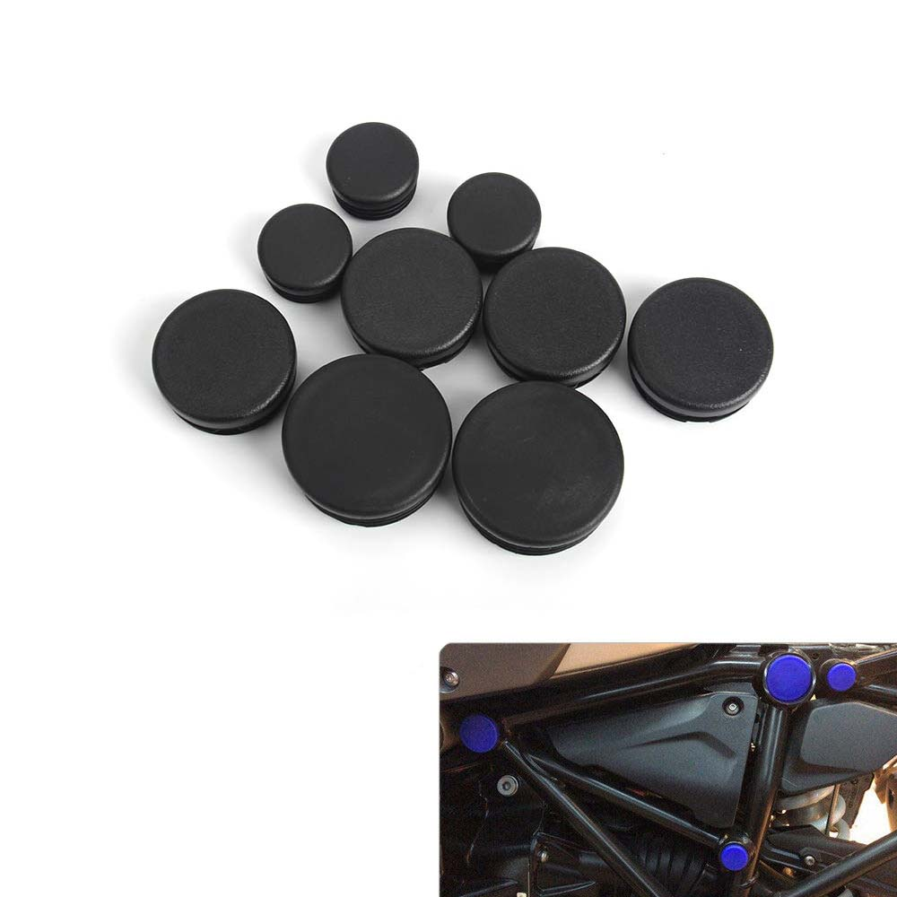 Frame Hole Prevent dust Cover Caps set for <font><b>BMW</b></font> <font><b>R1200GS</b></font> R 1200 GS R1200 GS Adventure 2017 2018 R1250 GS R1250GS 2018 2019 image