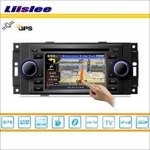 Liislee Auto Android Per Jeep Grand Cherokee/Bussola/Commander Lettore DVD Radio di Navigazione GPS Nav Audio Video Stereo sistema
