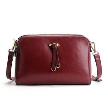 Nesitu New High Quality Brown Green Black Blue Red Split Leather Cute Small Women Messenger Bags For Girl Shoulder Bags #M9091