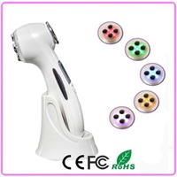 Rechargeable Type Mini Portable RF Radio Frequency Facial Beauty Machine For Home Use Free Shipping