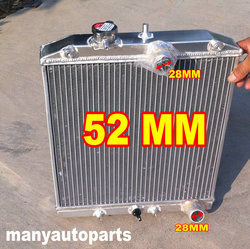 Алюминиевый радиатор для HONDA CIVIC EK4/EK9,EG6/EG9,EM1 B16A VTEC 92-00 28 мм Труба