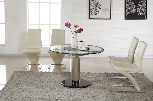 Galaxy mesa de comedor de vidrio en Mesas de Comedor de Muebles en ...